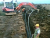 Landfill pipe systems - pipe installation