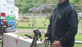 Dinosaur Adventure Park Drilling