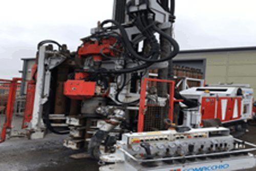 Soakaway borehole machine - teckna group