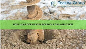 How long does borehole drilling take?